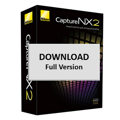 Product picture Nikon Capture NX 2 Full Photo Editing Software