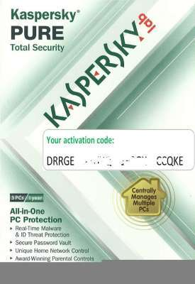 Product picture Genuine Kaspersky Pure 3 pcs 1 year